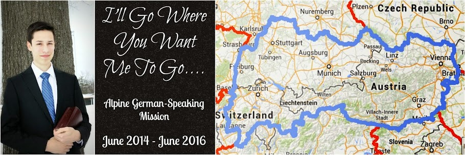 I Will Go Where You Want Me to Go - Alpine German-Speaking Mission
