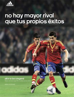 camiseta seleccion española Copa Confederaciones 2013 adidas
