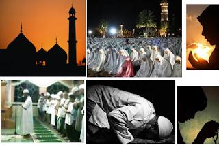 Doa Bacaan Niat Shalat Tarawih dan Shalat Witir