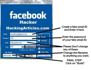 hacking facebook account with you follow it step by step