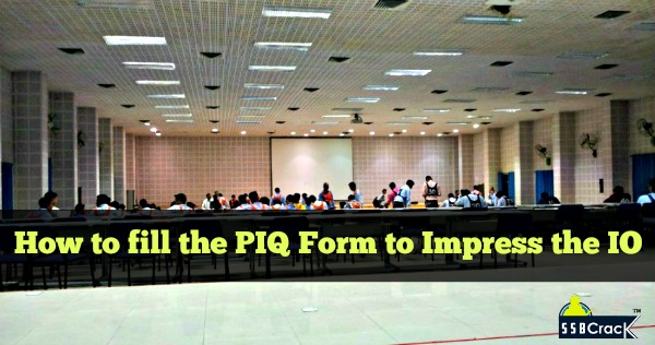 How to fill the PIQ Form to Impress the IO