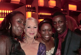 CLOTHESHORSE MEETS DAME HELEN MIRREN