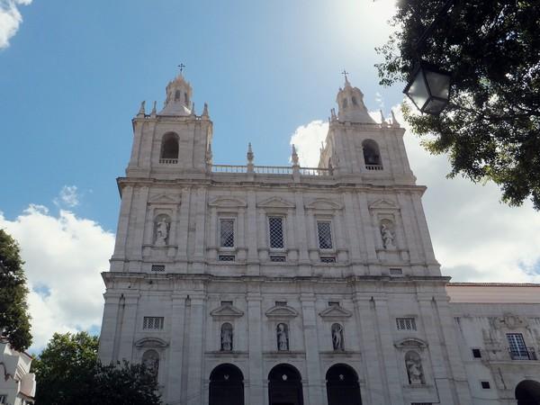 Lisbonne Lisboa alfama monastère sao vicente