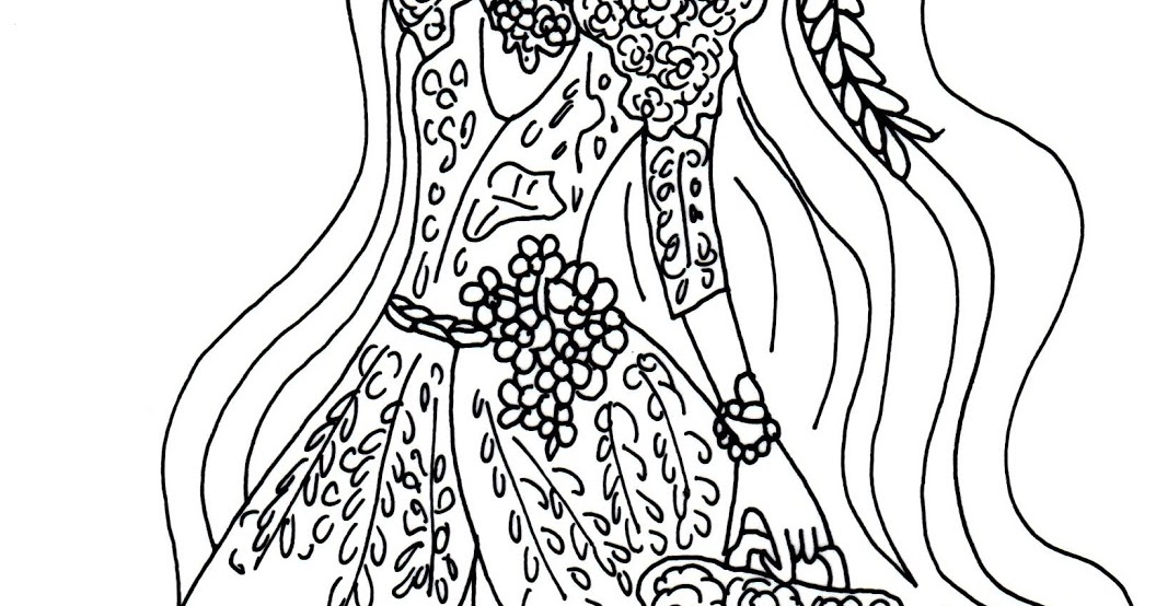 Holly ohair coloring pages