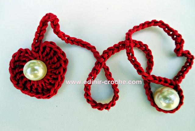 corações em croche dvd video-aulas gratis com Edinir-Croche