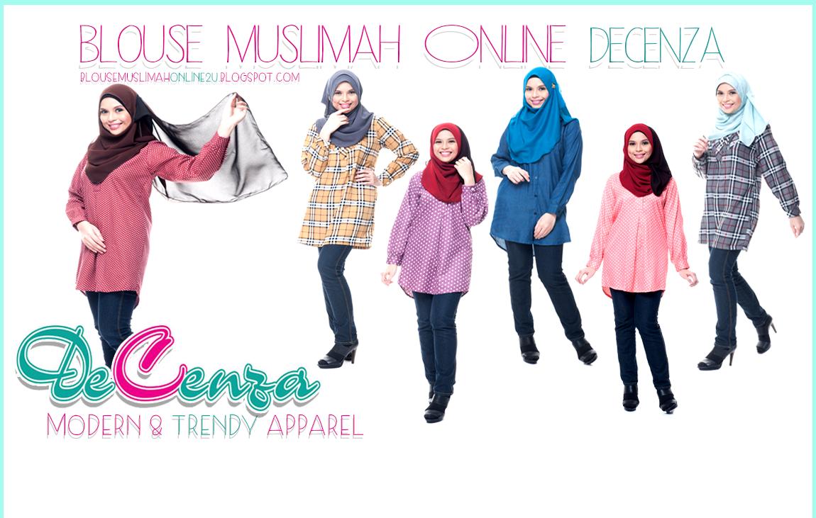 Decenza Blouse Muslimah Online