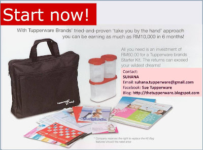 Tupperware Registration / Pendaftaran Tupperware
