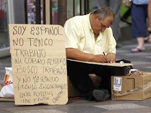 LA REALIDAD LABORAL EN ESPAÑA, DE LA CUAL LA PRINCIPAL CULPABLE ES LA CASTA POLÍTICA: