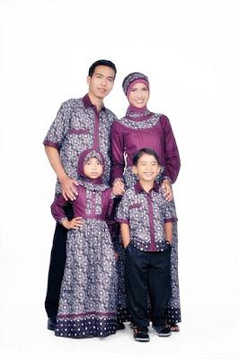 Baju Muslim Sarimbit Kombinasi