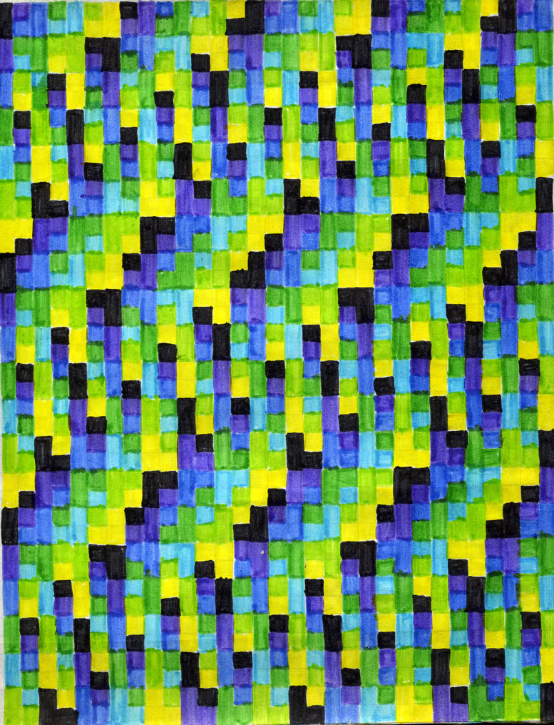 Patterns in famous art - photo#28