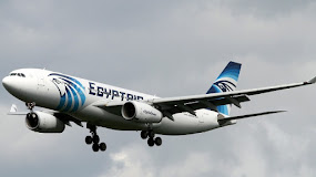 EGYPTAIR FALLS OUT OF THE SKY.