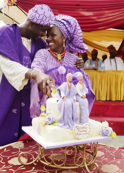 Nigeria Traditional Wedding Cakes http://www.nairaland.com/1027403/nigerian-traditional-wedding-cakes
