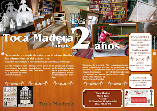 Interior publirreportaje Toca Madera