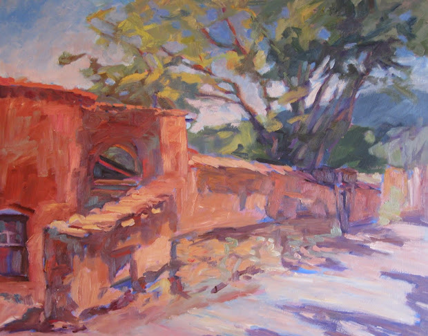 Upper Canyon Road, Santa Fe