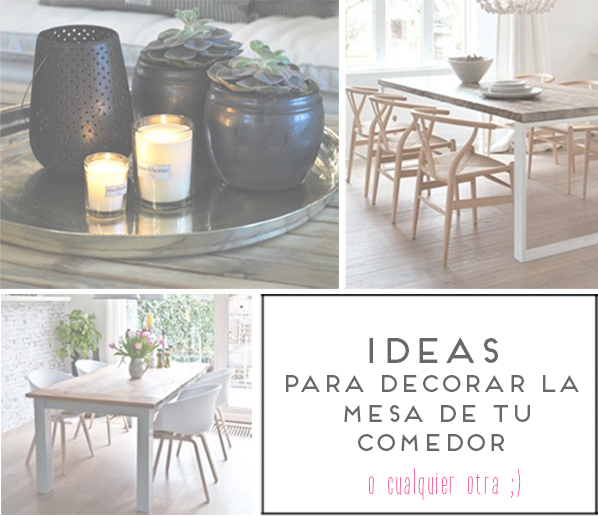 Centros de mesa. Decoración. Center Table DiningRoom