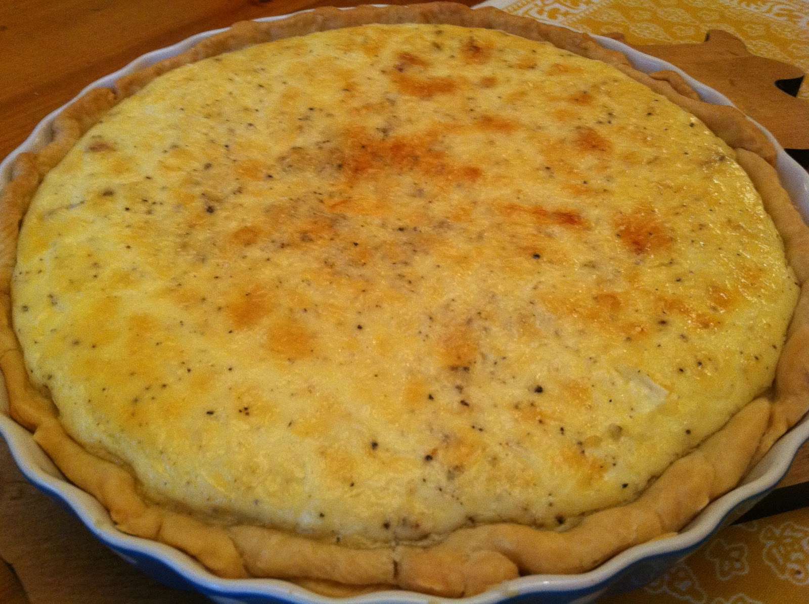 Bourbon and Chocolate: Quiche Lorraine