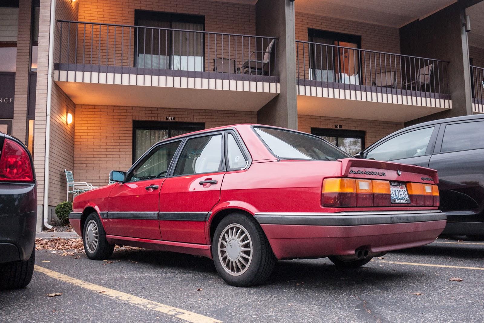 THE STREET P: 1986 Audi 4000 CS Quattro