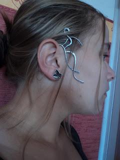Tour d'oreille Cascade elfique s'adapte à toutes les oreilles