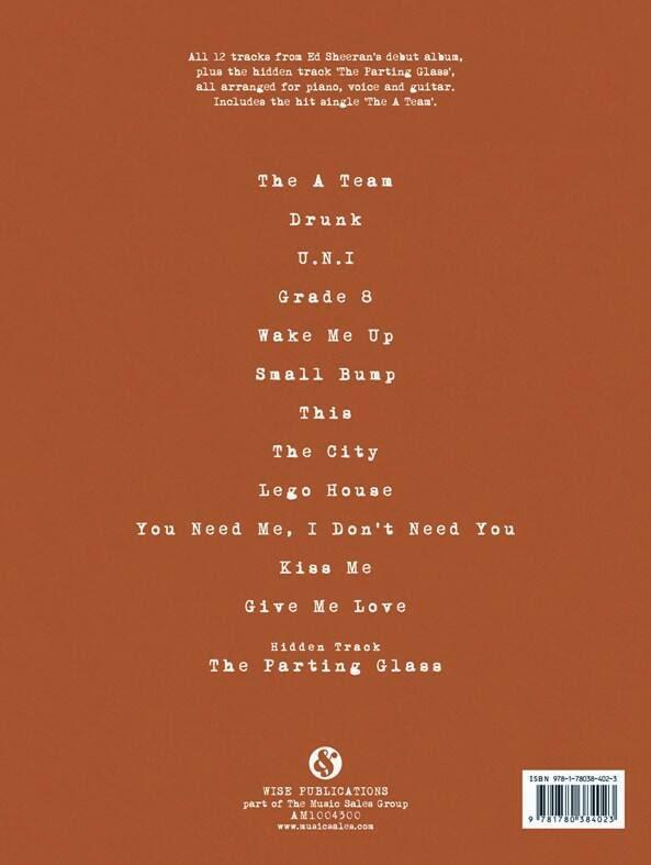 Ed Sheeran Songs