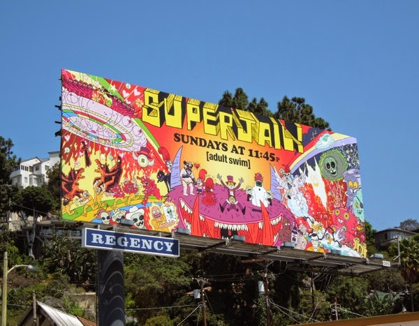 Superjail season 4 billboard