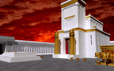 Beware the rebuilt temple. It is damnation for all who align themselves with it.