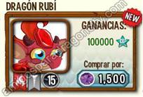 imagen de la formula del dragon rubi