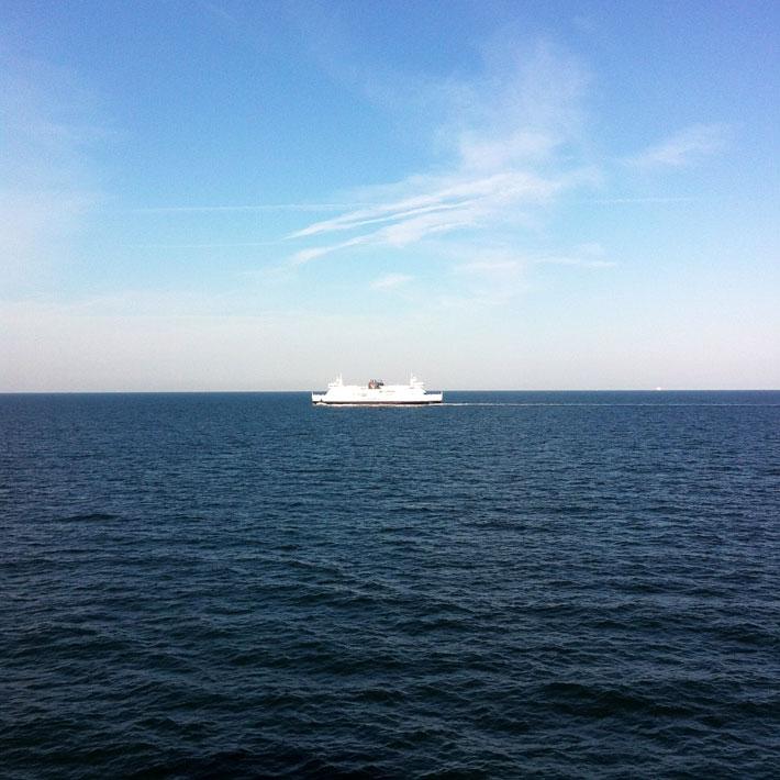 Amalie loves Denmark auf dem Weg nach Kopenhagen