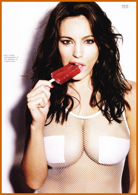 Kelly Brook Strips Down For Esquire Magazine sexy stills