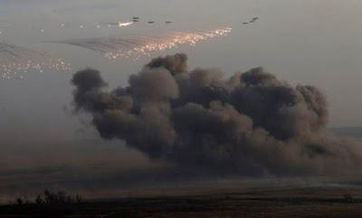 Rusia Bersumpah Tidak Akan Berhenti Bunuh Muslim Suriah