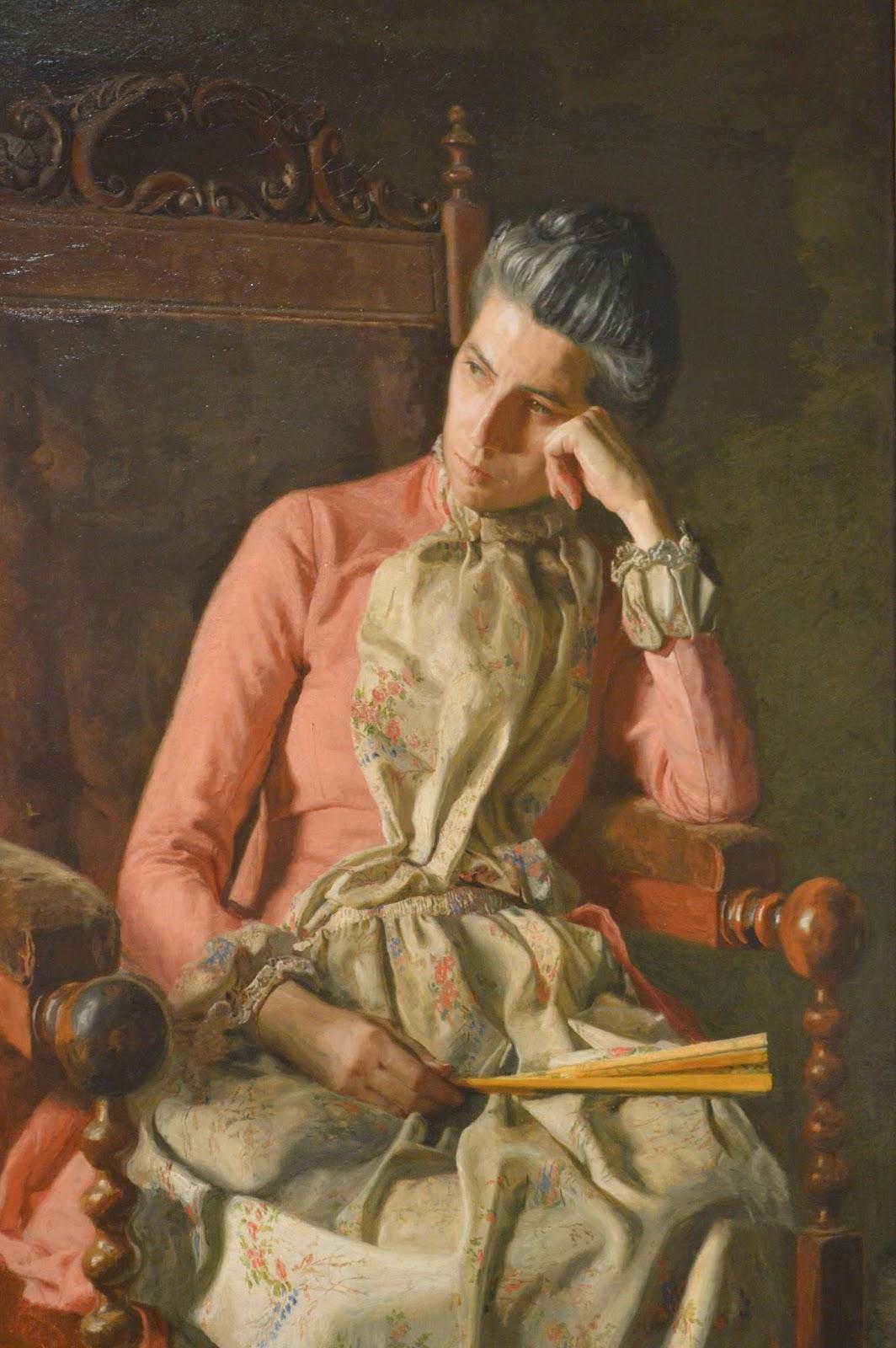 Miss Amelia Van Buren, Thomas Eakin
