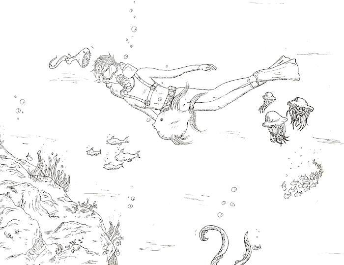 undervwater