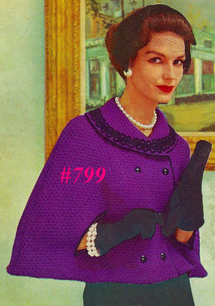 Miss Julia\'s Patterns: Cozy Capes to Knit - Crochet & Free Patterns