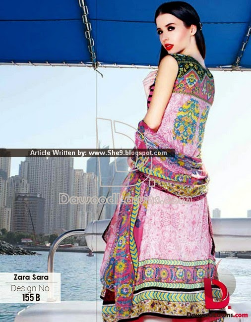 Dawood Lawn 2015 in Zara Sara Series