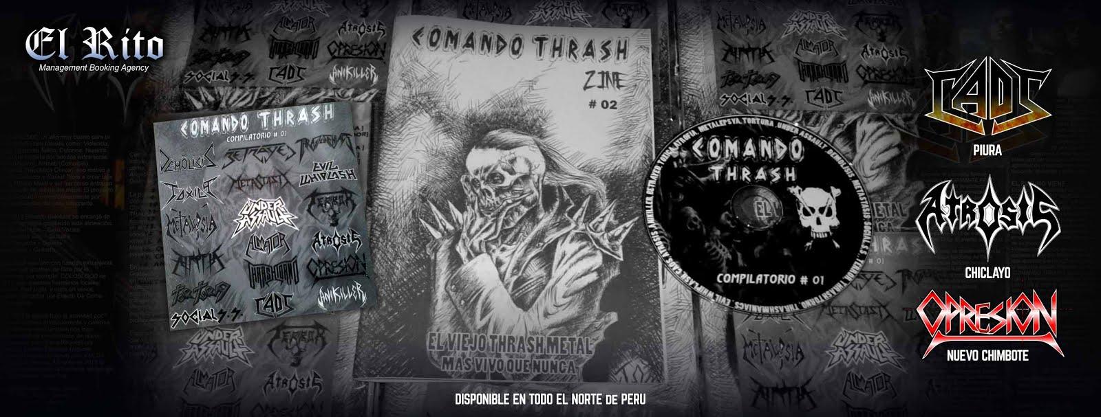 COMANDO THRASH ZINE 2