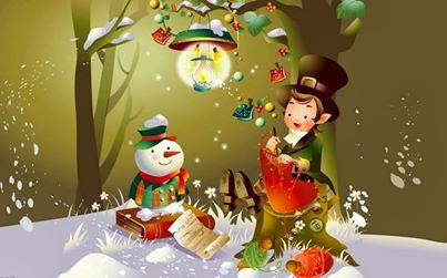 Bonne année-Cartes de voeux 2015-noël amour-carte Joyeux Noël 2014