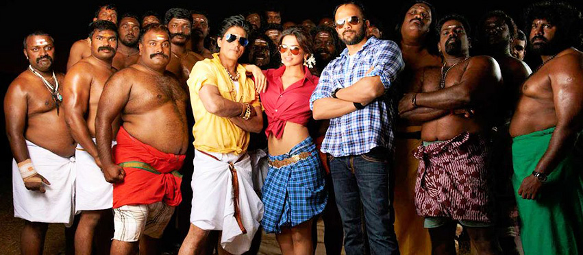 Chennai Express - Deepika Padukone, Shahrukh Khan, Rohit Shetty - Facebook TIMELINE Covers