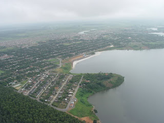 Breu Branco, Pará, Cidade, Vista Aérea