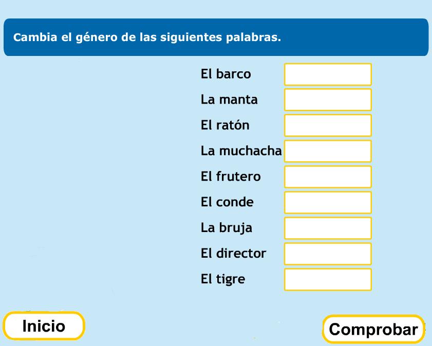 http://www.primerodecarlos.com/TERCERO_PRIMARIA/noviembre/Unidad5/actividades/lengua/genero/indice.swf