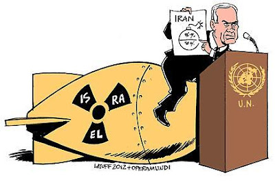 Israeli Prime Minister Benjamin Netanyahu drew a red line
