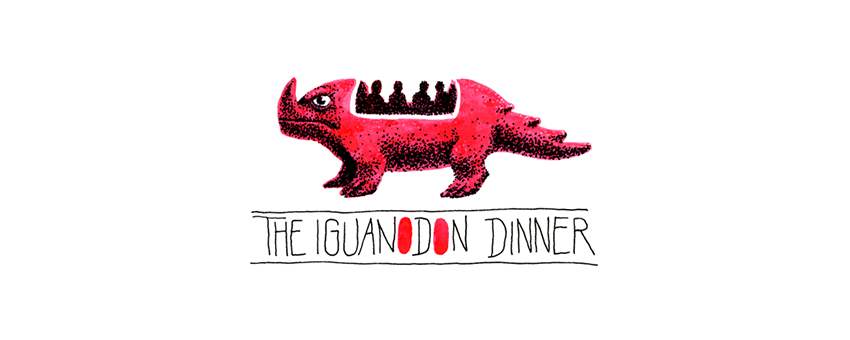 the iguanodon dinner