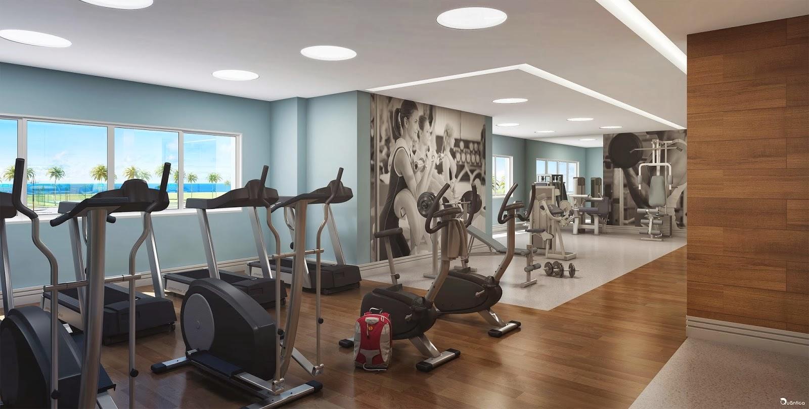 verano residencial - fitness