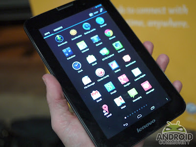 Review dan Spesifikasi Tablet LENOVO A1000