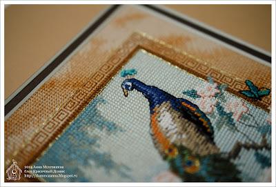Прекрасная птица Dimensions вышивка