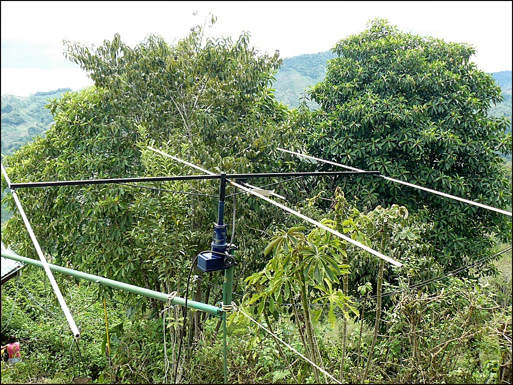 6 meter Yagi at six feet elevation for testing