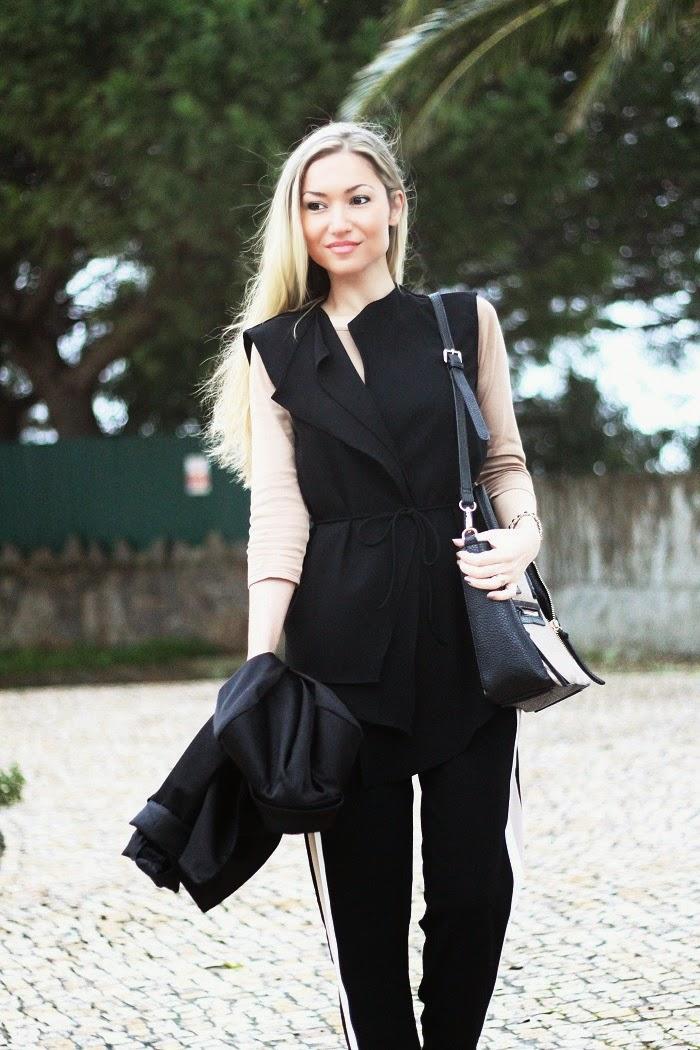 Novo Look do dia/Outfit com o estilo Sporty Chic, uma das tendências do Outono/Inverno 2014-2015. Dicas de Moda e Imagem no Blog de Moda Style Statement. Moda. Fashion. Inspiração. Trends.