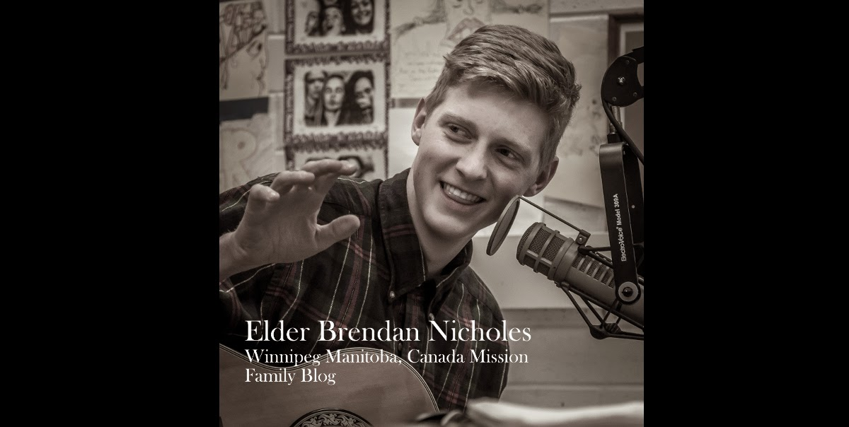 Elder Nicholes - Winnipeg Manitoba Canada