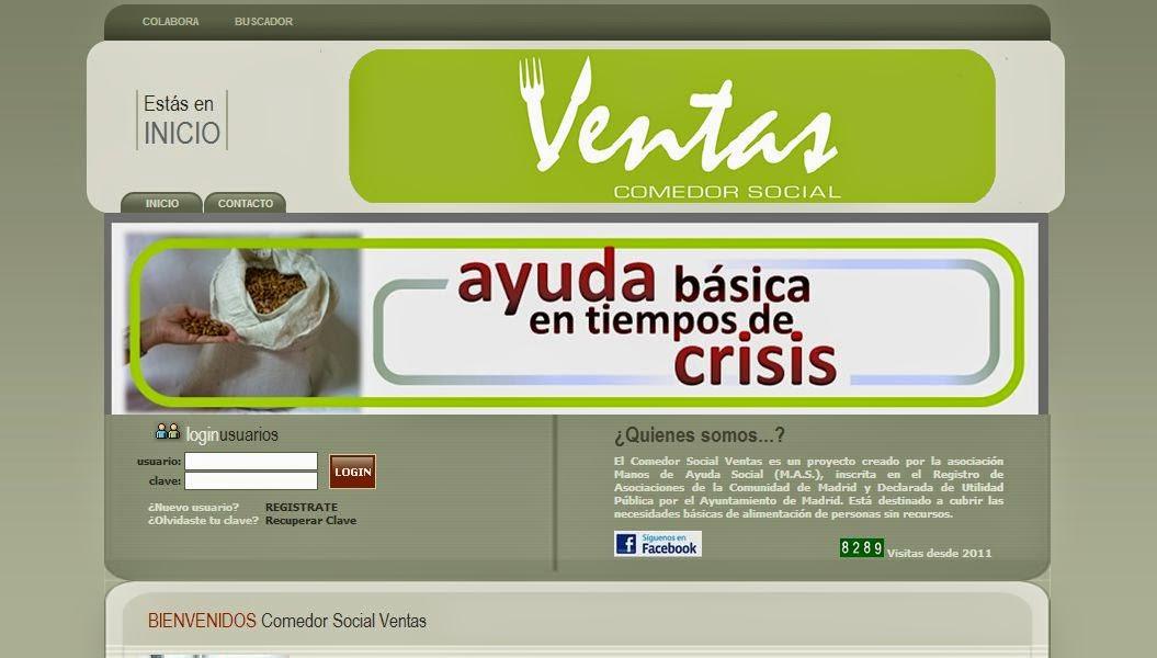 Solycarpa solycarpa colabora con el comedor social ventas for Proyecto comedor social