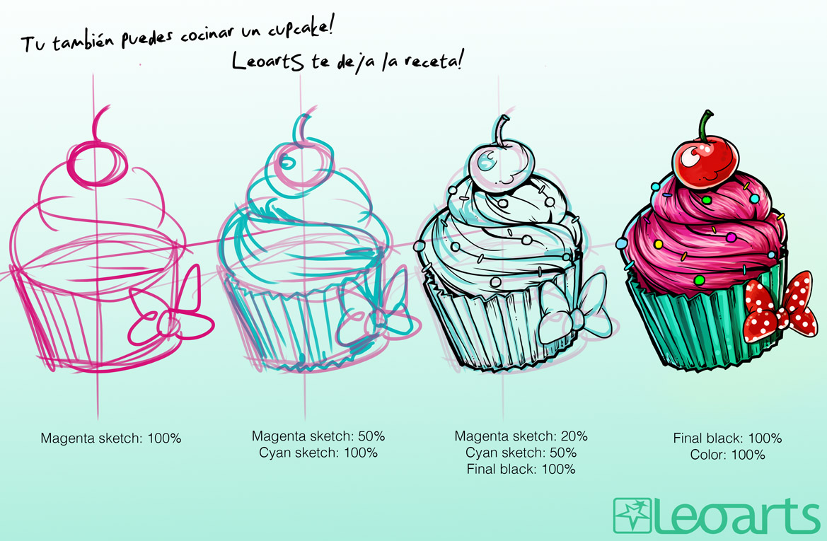 Cupcake Art Design : cupcake on Pinterest Cupcake Tattoos, Cute Cupcakes and ...