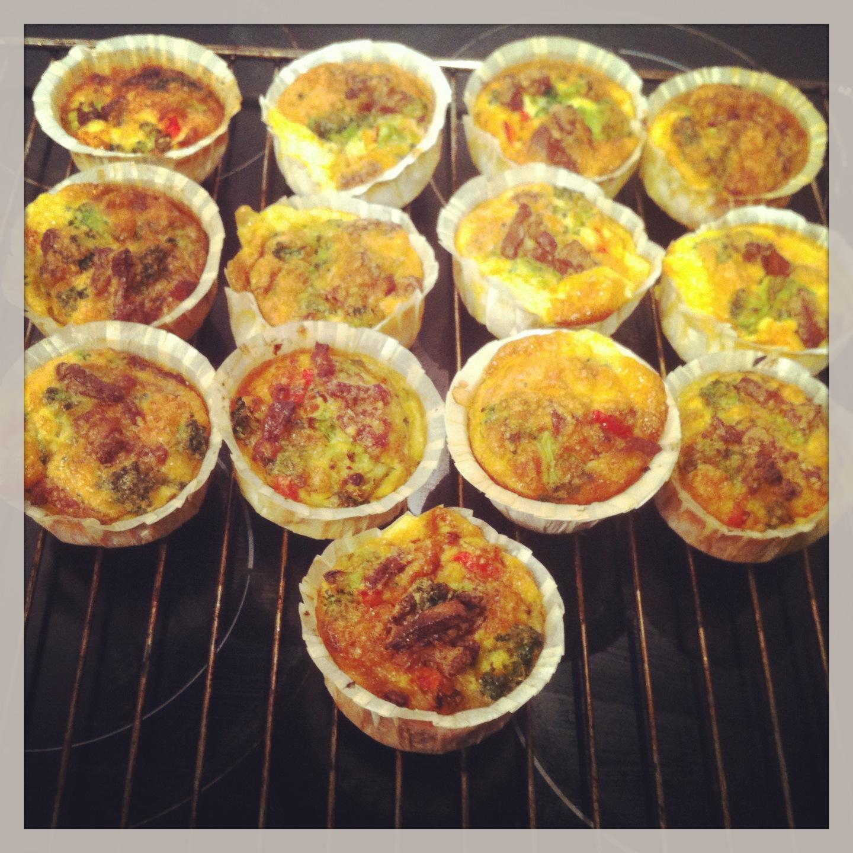 God Mad Og Søde Sager ægge Muffins