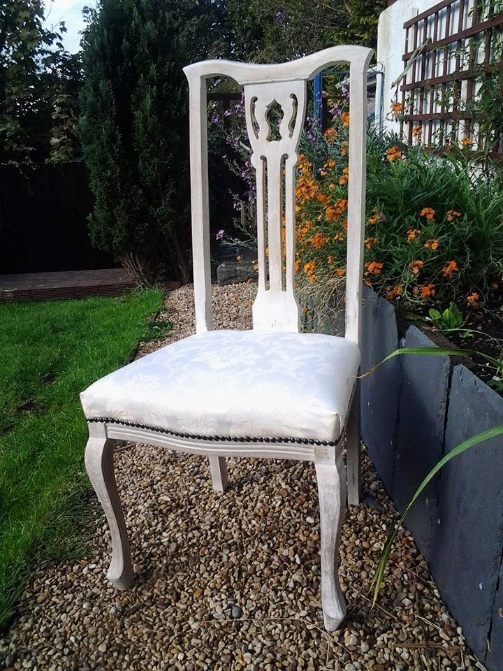 Upcycled Dressing Table Chair